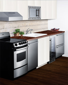 Small Kitchen Designs | Summit Appliance