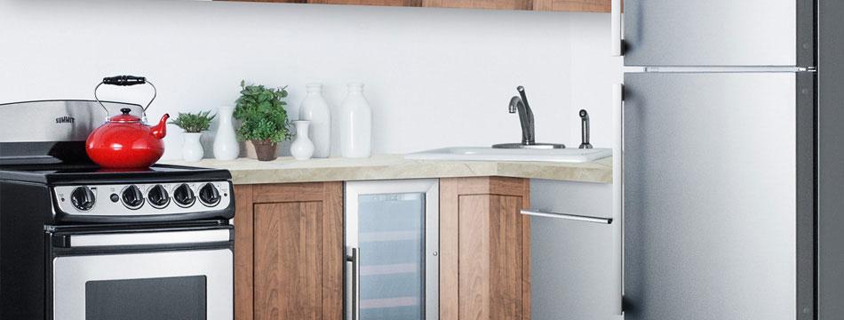 Small Kitchen Designs Summit Appliance