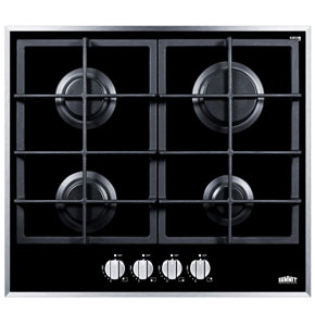 Gas on Glass Cooktop