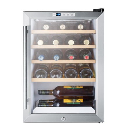 Compact commercial wine cellars