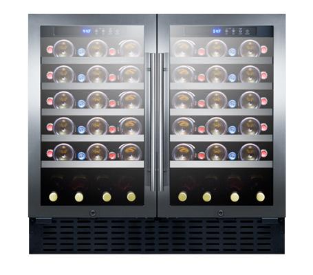 "SWC3668ADA 36"" Wide Built-In Wine Cellar, ADA Compliant"