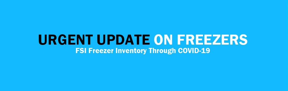 Urgent update on freezer inventory