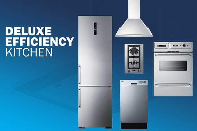 Deluxe Efficiency Kitchen Pacakge