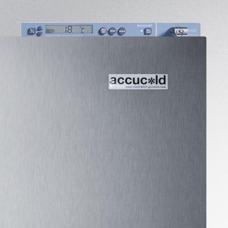 Temperature Monitoring Accucold Medical Refrigerators By
