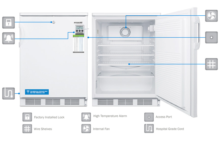 MED Series Refrigeration by Accucold | Accucold Medical ...