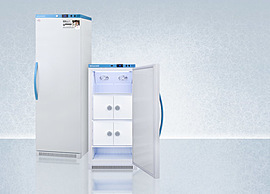 Refrigerators With Locking Compartments