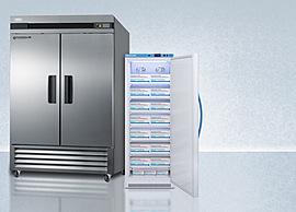 Solid Door Pharmacy Refrigeration