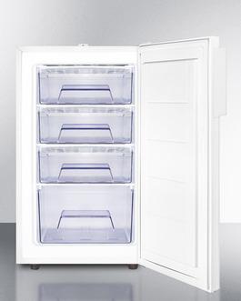 FS407LBIVACADA Freezer Open