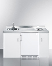 C60ELGLASS Kitchenette Front