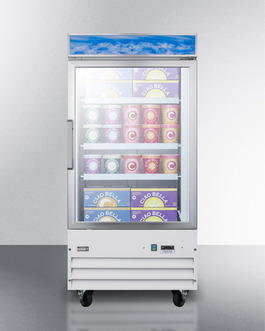 SCFU1210 Freezer Full