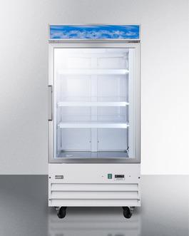 SCFU1210 Freezer Front