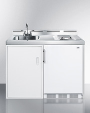 C48ELGLASS Kitchenette Front