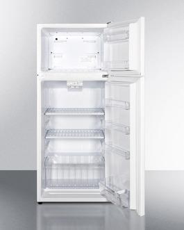 FF1118W Refrigerator Freezer Open