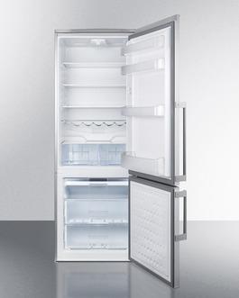 FFBF285SSX Refrigerator Freezer Open
