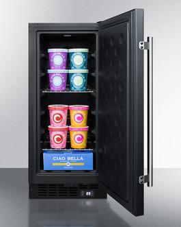 SCFF1533B Freezer Full