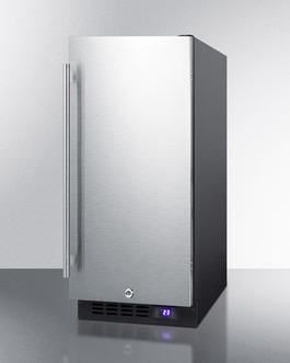 SCFF1533BSS Freezer Angle