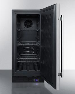 SCFF1533BSS Freezer Open