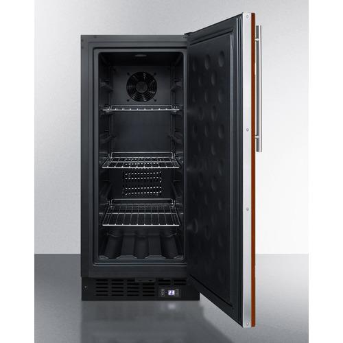 SCFF1533BIF Freezer Open