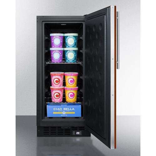 SCFF1533BIF Freezer Full