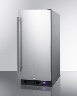 SCFF1533BCSS Freezer Angle