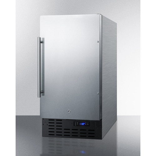 SCFF1842CSS Freezer Angle