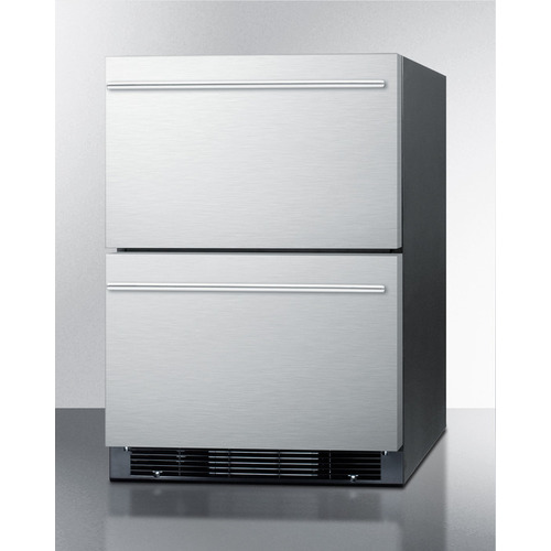 SPRF2D5 Refrigerator Freezer Angle