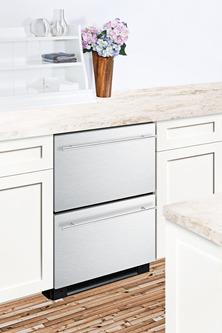 SPRF2D5IM Refrigerator Freezer Set