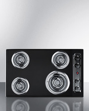 TEL05 Electric Cooktop Front
