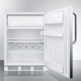 CT661SSTB Refrigerator Freezer Open