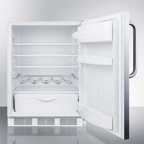 FF61BISSTBADA Refrigerator Open