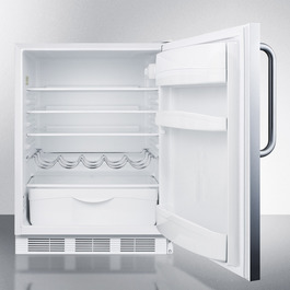 FF61SSTBADA Refrigerator Open