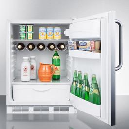 FF61SSTBADA Refrigerator Full