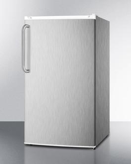 FF412ESCSS Refrigerator Freezer Angle