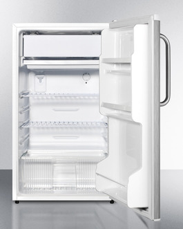 FF412ESCSS Refrigerator Freezer Open