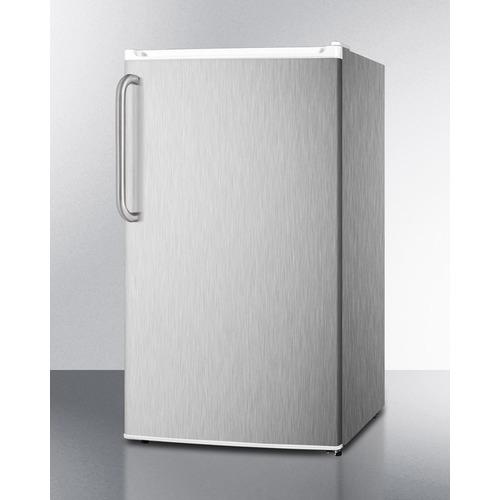 FF412ESCSSADA Refrigerator Freezer Angle