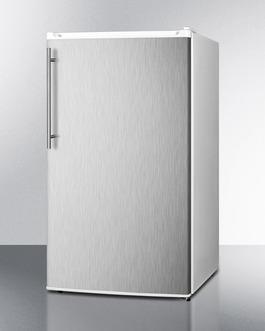 FF412ESSSHV Refrigerator Freezer Angle