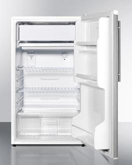FF412ESSSHV Refrigerator Freezer Open