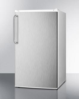 FF412ESSSTB Refrigerator Freezer Angle