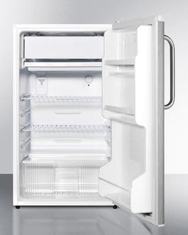 FF412ESSSTB Refrigerator Freezer Open