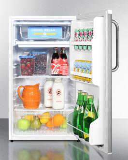 FF412ESSSTB Refrigerator Freezer Full
