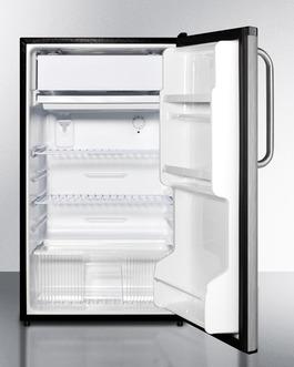 FF433ESCSSADA Refrigerator Freezer Open