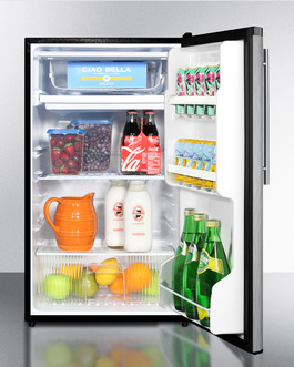 FF433ESSSHV Refrigerator Freezer Full