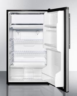FF433ESSSHVADA Refrigerator Freezer Open