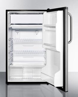 FF433ESSSTB Refrigerator Freezer Open