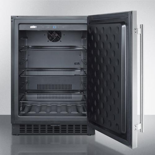 FF64BSS Refrigerator Open