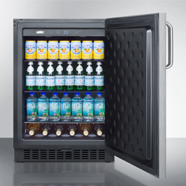FF64BXCSSTB Refrigerator Full