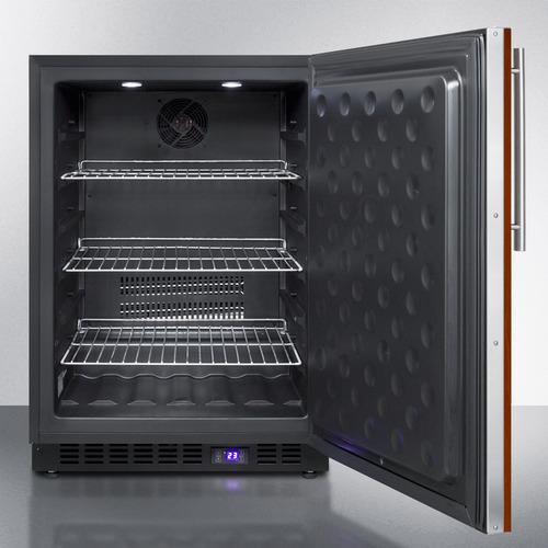 SCFF53BIF Freezer Open