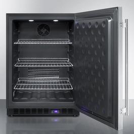 SPFF51OS Freezer Open