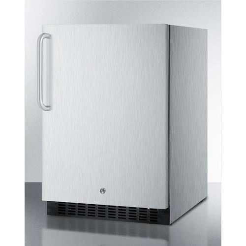 SPR627OSCSSTB Refrigerator Angle