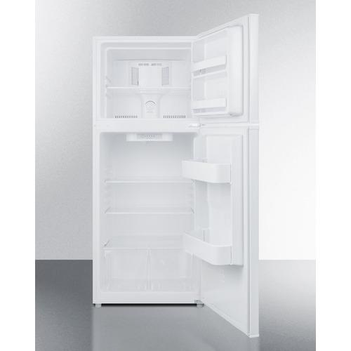 FF1084W Refrigerator Freezer Open